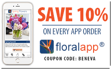 Send flowers from your smartphone. Available for Android and iPhone.